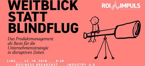 ROI IMPULS Business Breakfast: Produktmanagement