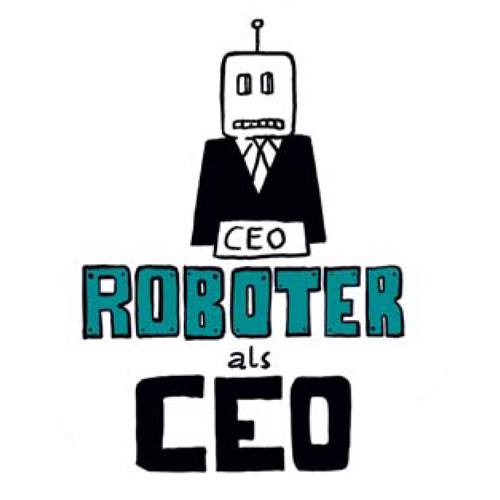 Illustration Roboter als CEO
