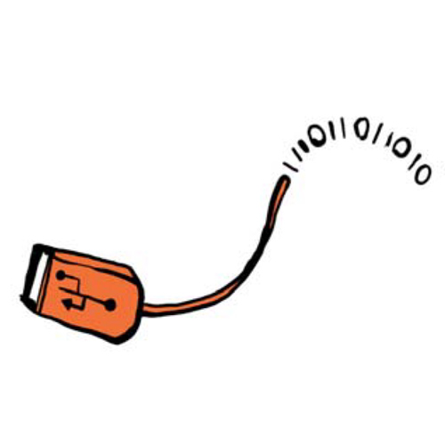Illustration USB Anschluss
