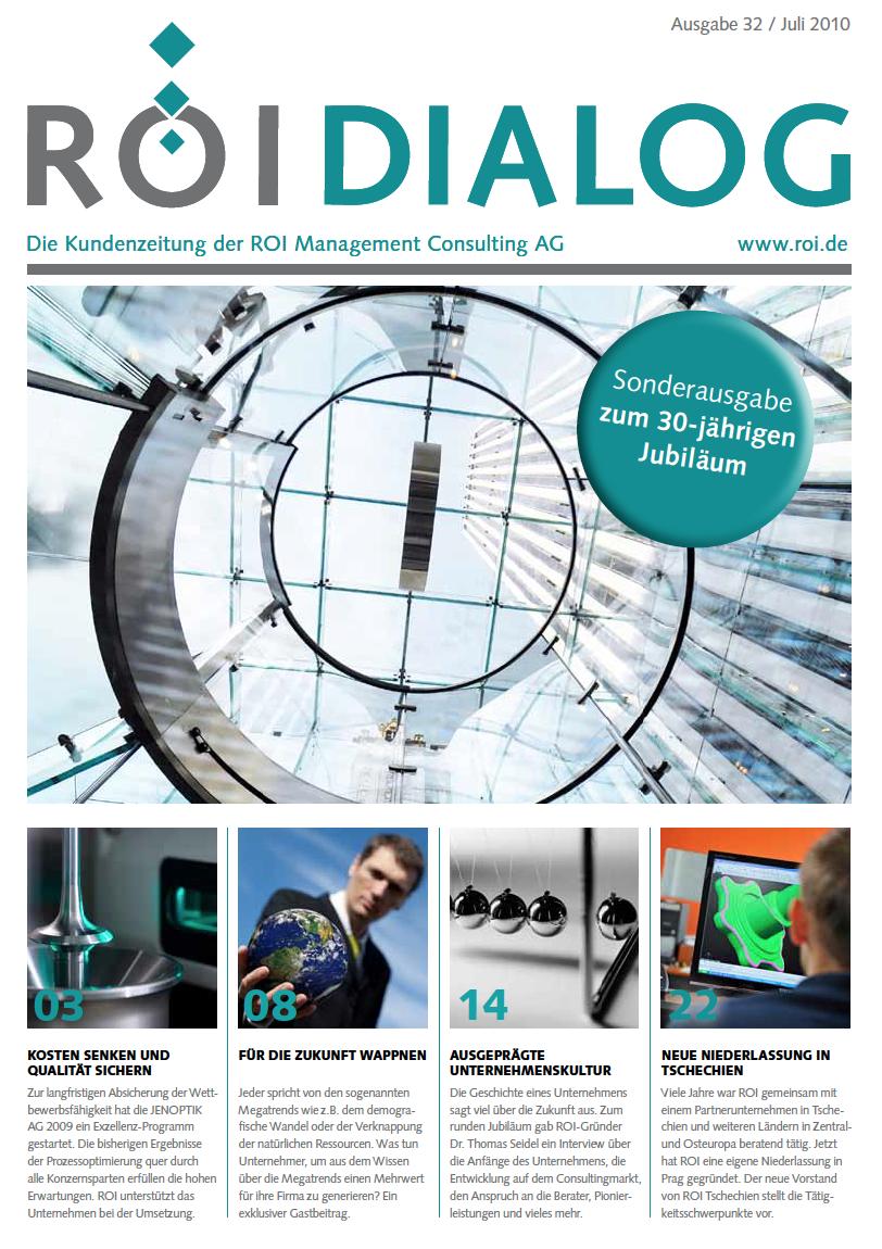 Cover des Dialogmagazins Ausgabe 32