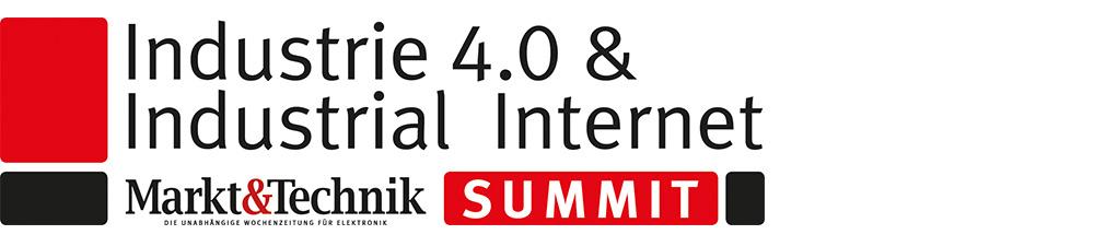 Schwarz rotes Logo M&T Industrie 4.0 & Industrial Internet