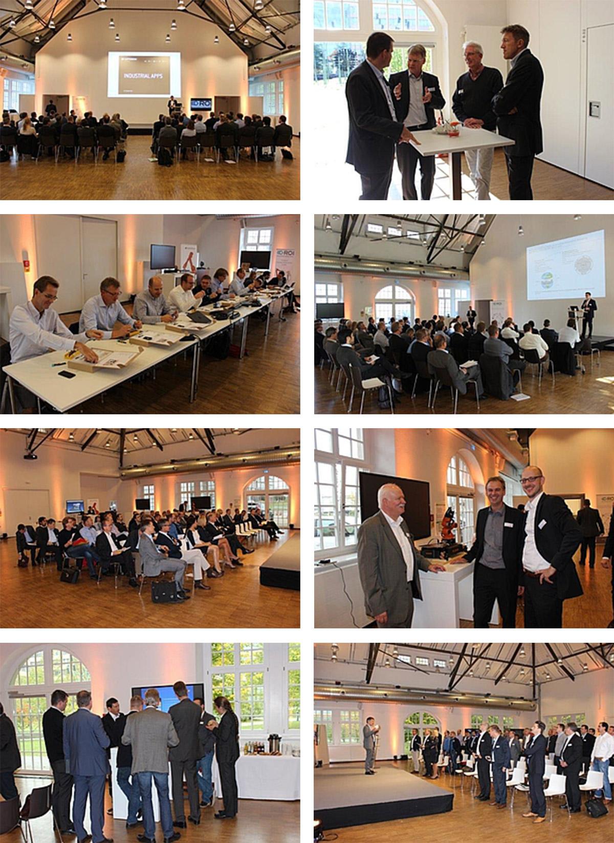 Bilder des Workshops ROI Industrie 4.0 Konkret
